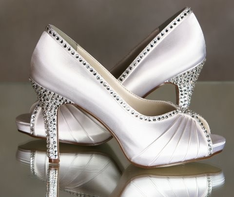 Moon Beam http://www.etsy.com/listing/62758228/winter-wedding-sparkling-shoes-swarovski