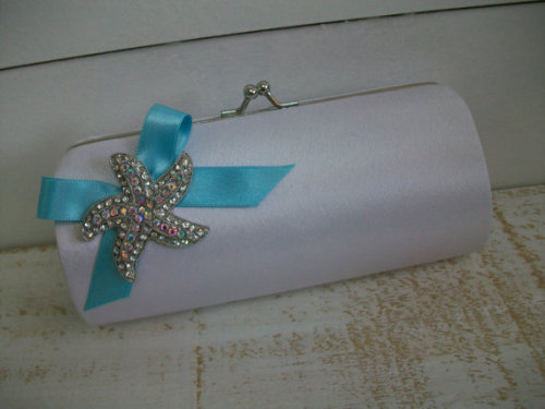Starfish Clutch  http://www.etsy.com/listing/95996084/starfish-clutch-wedding-bride