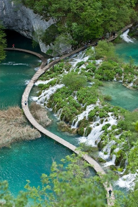 Park in Plitvice Croatia