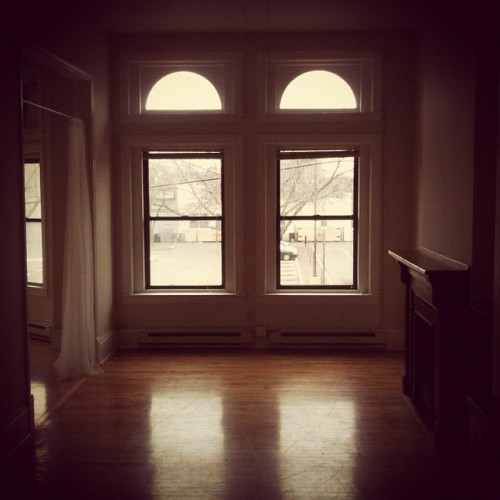 Our new apartment: (Taken with instagram)