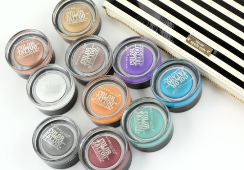 PRODUCTS IN THE SPOTLIGHT - Eye Studio® Color Tattoo 24HR Cream Gel Shadow - Discover it here bit.ly/Haq2n0 . Which shade is your fave?