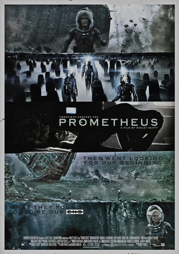"dailybunch:  RIDLEY SCOTT'S ""PROMETHEUS"" by Midnight Marauder"