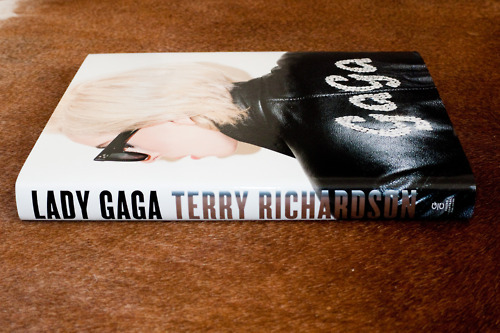 Lady Gaga | Terry Richardson This is the gift I got from my friend and her family when I spent New Years with them. I love it!