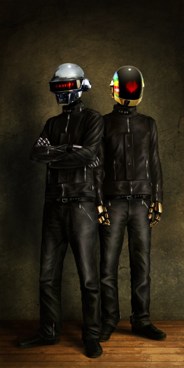 Daft Punk by Mateja Petkovic / Blog