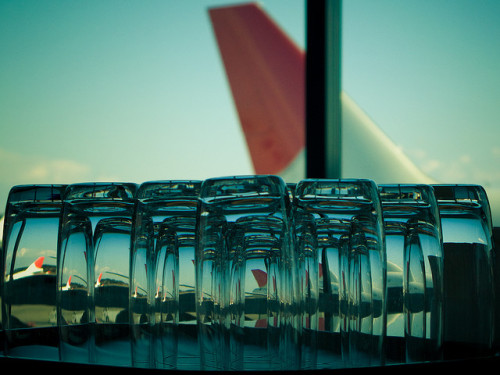 l-aeroport:  reflections : departures by hk2006 on Flickr.