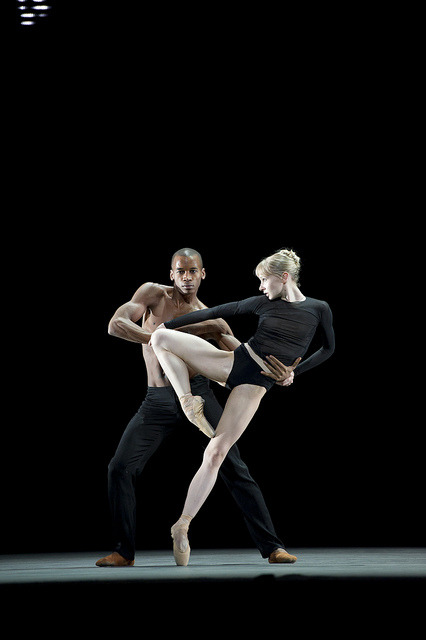 "Eric Underwood and Sarah Lamb in Wayne MacGregor's ""Infra"" - The Royal Ballet"