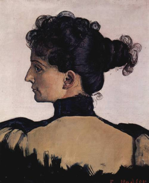 art-yearly:  Ferdinand Hodler Portrait of Berthe Jacques 1894