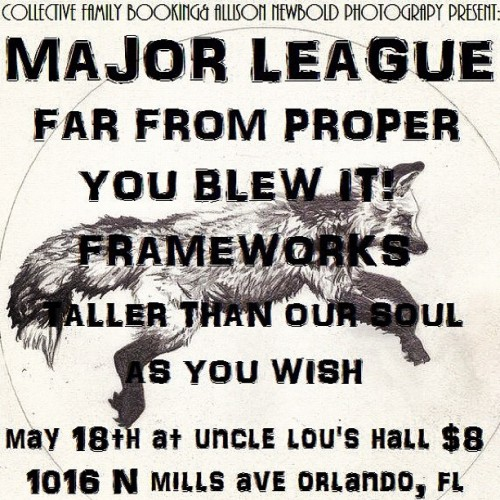 gettinghighonthedownlow:  Guys. I'm playing with Major League. You should go~ (Taken with instagram)  Let's fucking do this.