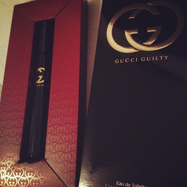 withloveminyi:  #gucci #luxury #tester (Taken with instagram)