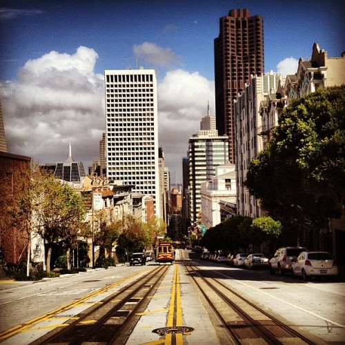 California street (Taken with instagram)
