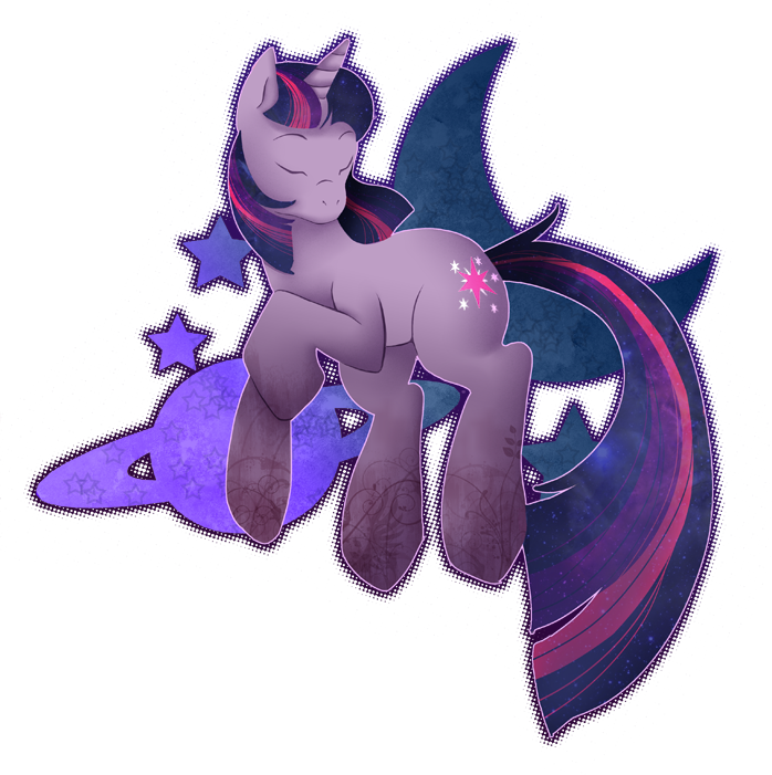 Dicking around in photoshop today Have A Twilight Sparkle