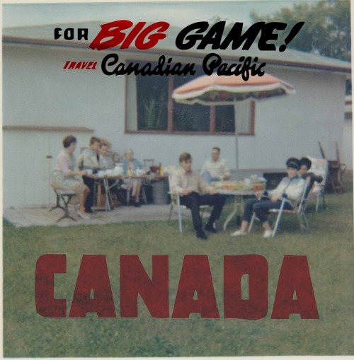 Canada: For Big Game, digital print, 2012