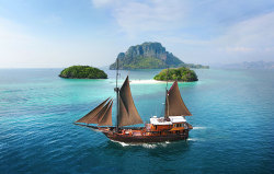 befairbefunky:  The Aleph ~ Sailing yacht, sailing the exotic Indonesian archipelago and beyond…
