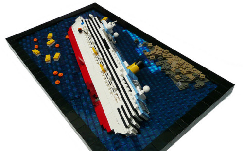 Costa Concordia 03 by Bricks for Brains on Flickr.