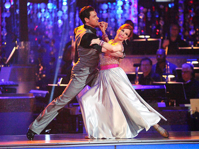 """Childbirth is easier."" – Dancing with the Stars contestant Melissa Gilbert, on the difficulties of learning the quickstep, on her weekly People.com blog Catch More of the 10 Best Celeb Quotes This Week >"