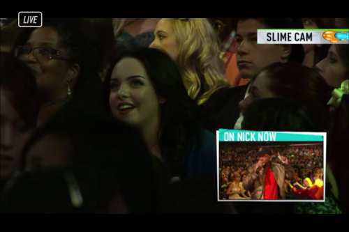 Liz Gillies at the KCA 2012