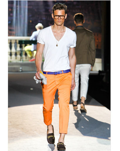 One of my favourite looks this summer … not too sure about the fake tan.