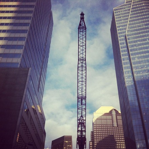 Movin' On Up. #yyc (Taken with instagram)