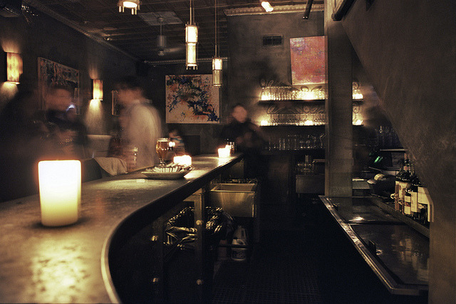 Analog Bars: Long Exposure at Another Room