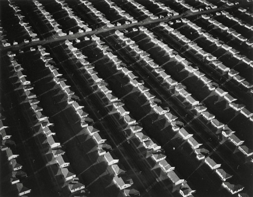 Finished Housing, Lakewood, California, 1950 — William A. Garnett