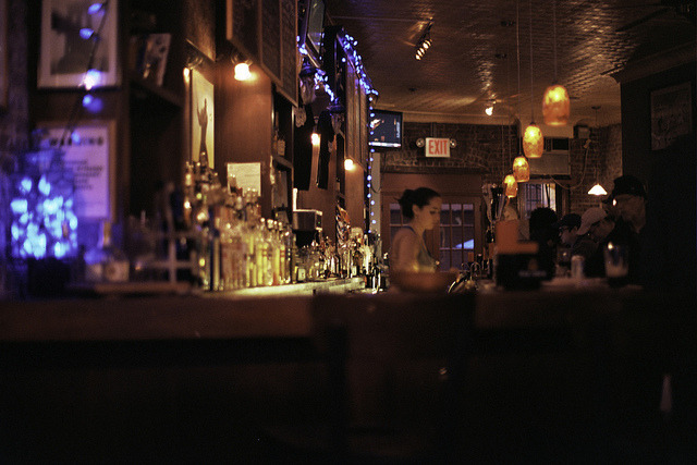 Analog Bars: Behind The Bar at The Brazen Head