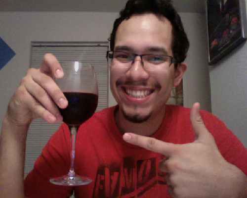 Me having some wine while watching Star Wars: Episode V