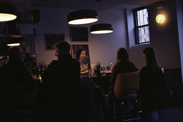 Analog Bars: Dusk at The Bearded Lady.