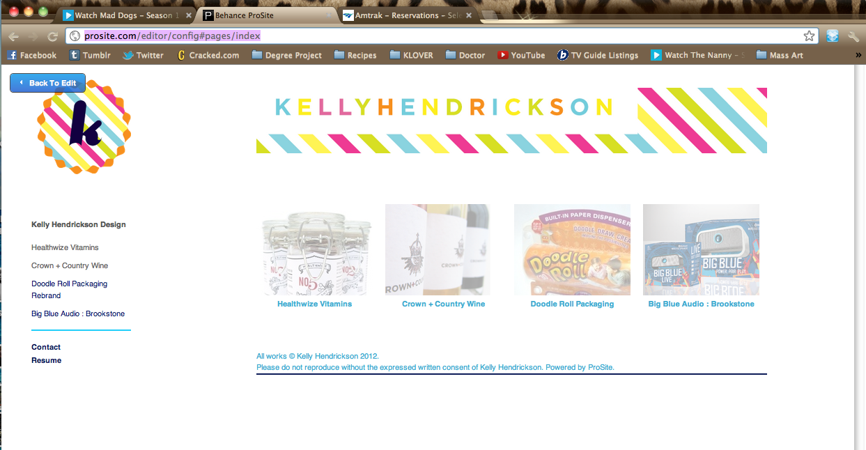New site getting published now!  Very excited for the personal rebrand!!! In the next few days, look for www.kellyhendricksondesign.com