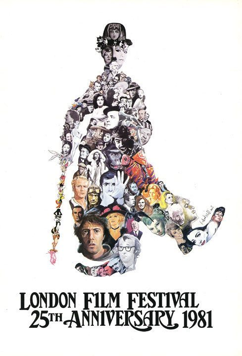 chaplinfortheages:  Richard William's Poster of the 1981 London Film Festival