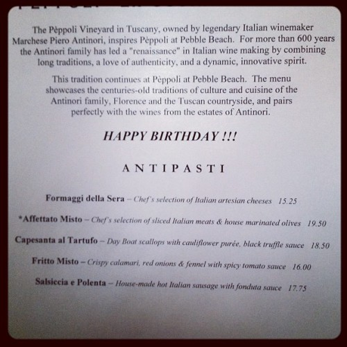Nice touch (Taken with Instagram at Peppoli)