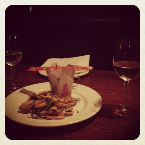 Dinner is served :) (Taken with Instagram at Big City Tavern)