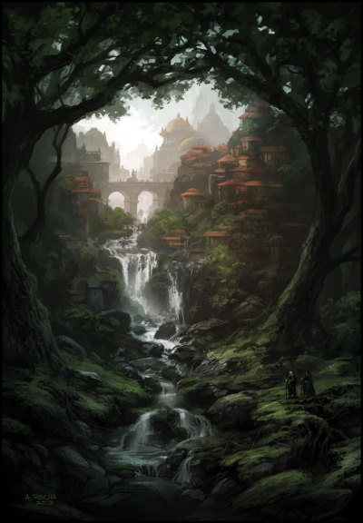 graphitetaint:  Peaceful Kingdom by *andreasrocha