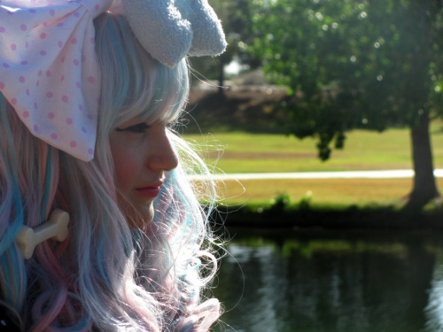 I went to my first lolita meet up today :3