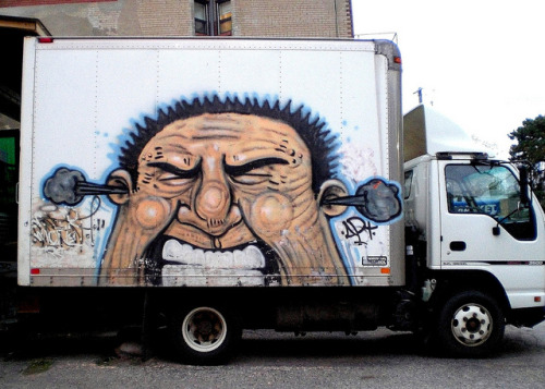 Toronto Truck by LoisInWonderland on Flickr.