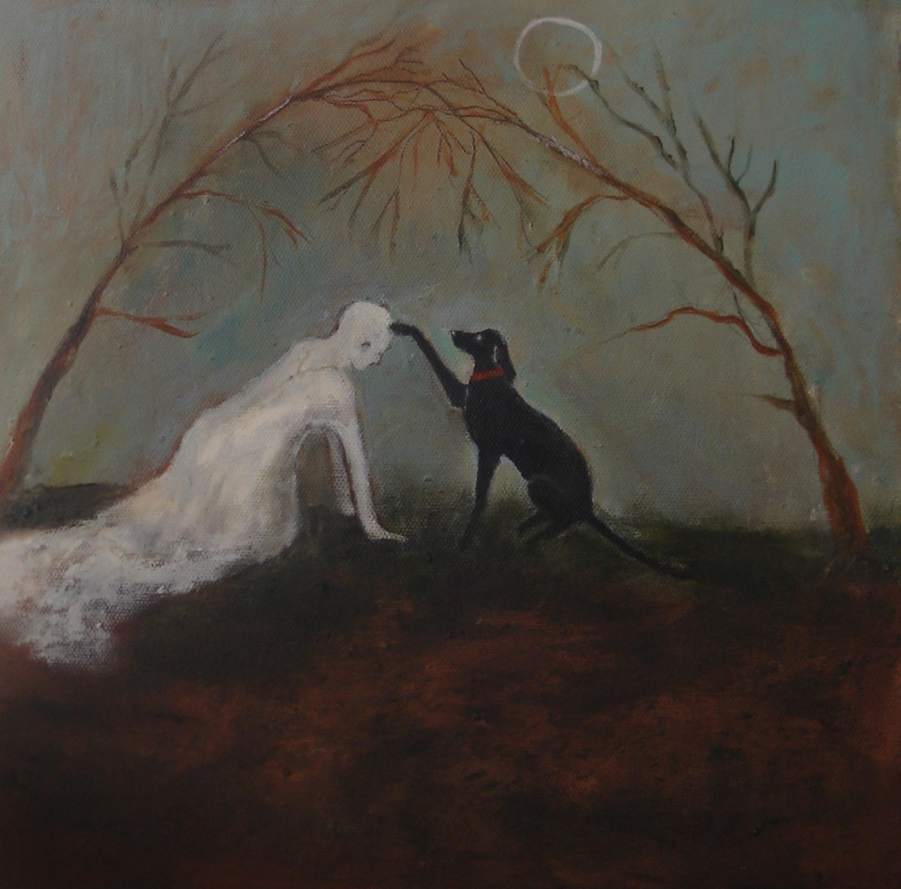 "Blessing by Jeanie Tomanek 12"" x 12"" ~ oil"