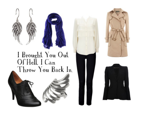 fictionalfashionistas:  BY REQUEST Supernatural Inspired - Castiel