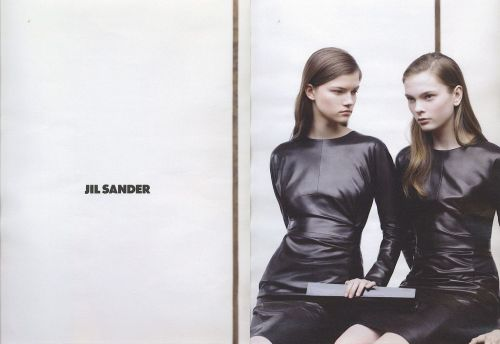 Willy Vandeperre for Jil Sander  Jill does no wrong!