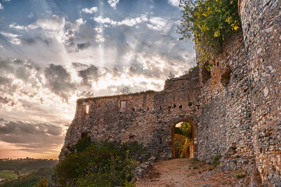 mythopoetical:  Rocchettine Castle - Rocchette, Italy by The Digital Mirage on Flickr.