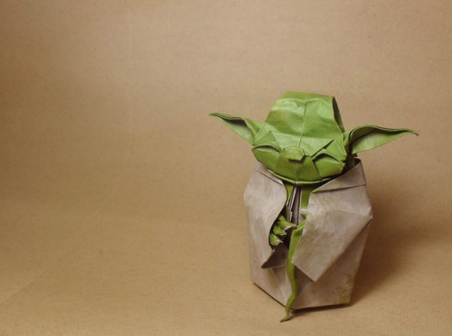 Star Wars origamiFor a certain someone :)