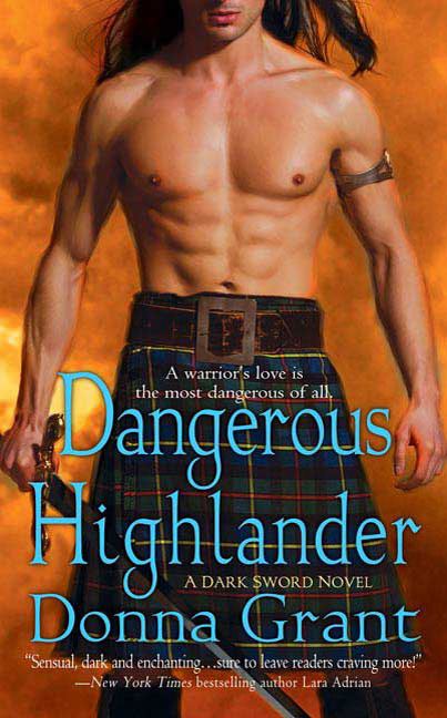 Paul Marron: romance novels hero. Dangerous Highlander by Donna Grant.