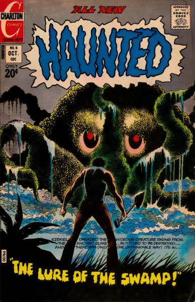 """The Lure Of The Swamp""  Haunted #8 - Charlton Comics, October, 1972"