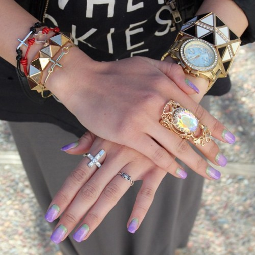 Arm candy & rings