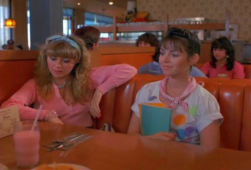 Girls of the 80s, E.G. Daily (with Heidi Holicker) in Valley Girl,... E.g. Daily Valley Girl