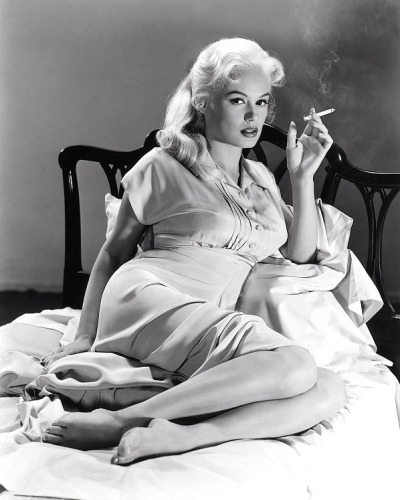 noonesnemesis:  Mamie Van Doren Photo by Peter Stackpole LIFE 1956