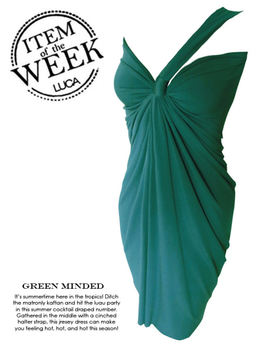 ITEM OF THE WEEK: CATO DRESS (P2,450) Now available at www.shopluca.com