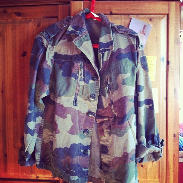 Finally bought myself a #Camouflage #army jacket 😊 (Taken with instagram)