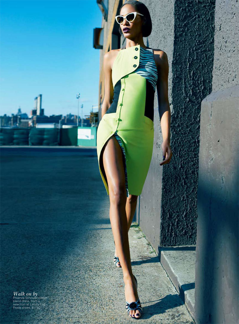 workingthecamera:  'Falling In Love Again', Joan Smalls by Kai Z Feng, Vogue Australia, April 2012