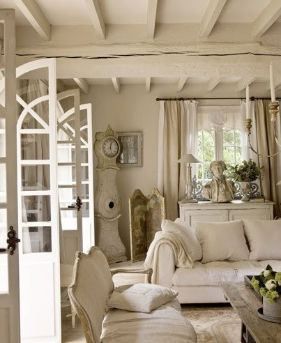 cream shabby chic