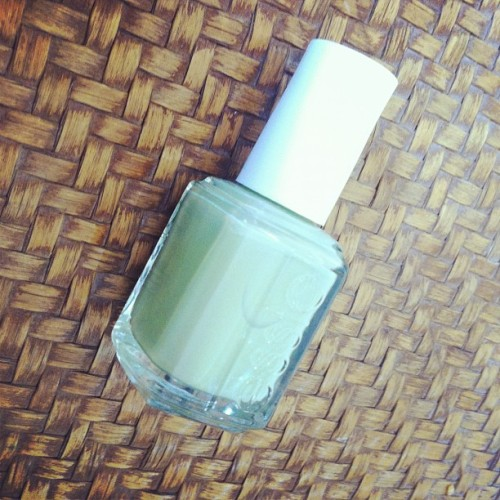 I'm goin #green ! Happy #earthday ! #essie #ss12 #785 #NavigateHer  (Taken with instagram)