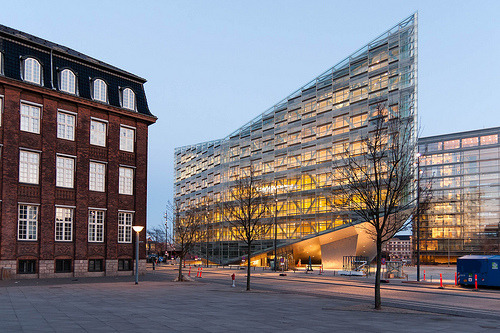 The Crystal & Cloud in Copenhagen, Denmark by Schmidt Hammer Lassen, 2010.